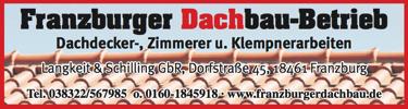 Franzburger Dachbau